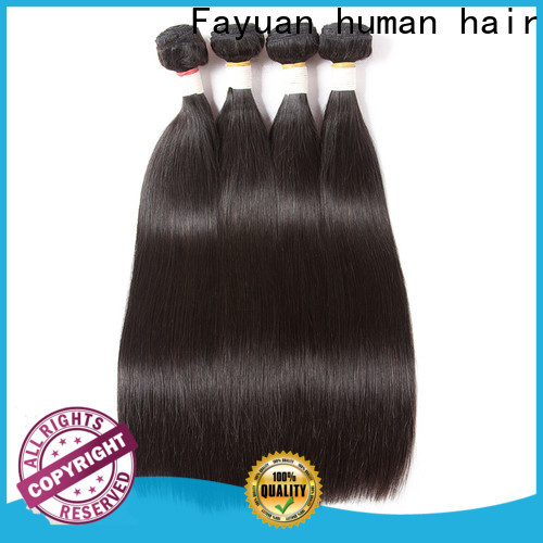 Fayuan Hair hair cheap brazilian hair bundles factory for women