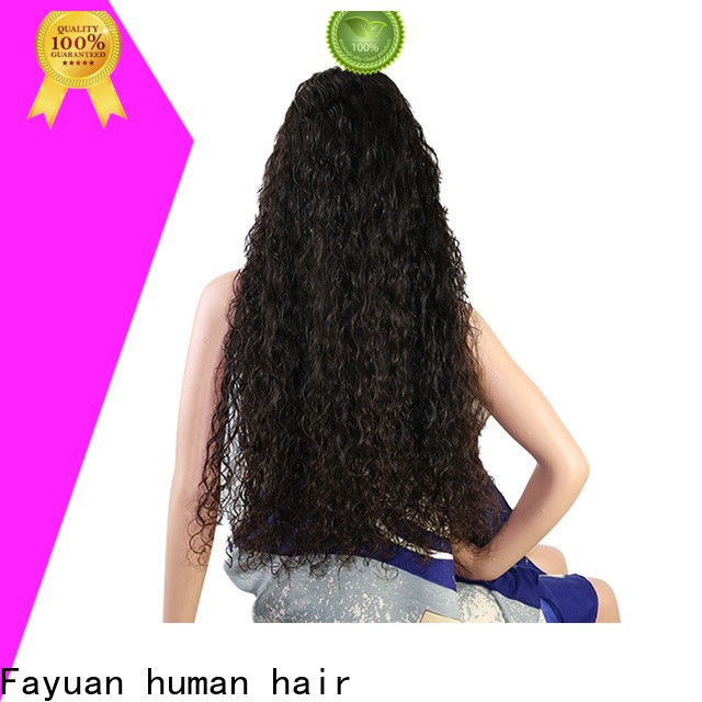 Fayuan Hair wave custom made lace frontals factory for street