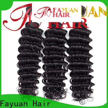Fayuan Hair grade peruvian deep body wave hair Suppliers for women