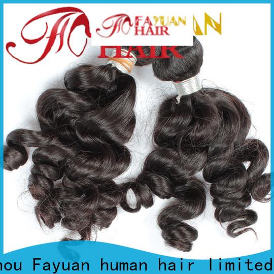Fayuan Hair virgin wholesale indian hair company for street