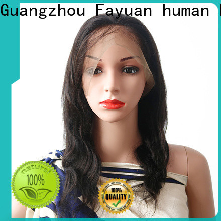 High-quality inexpensive full lace wigs black company for barbershop