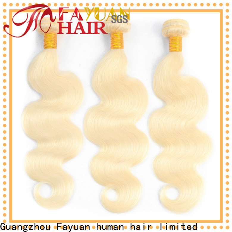 Fayuan Hair Top brazilian human hair weave bundles factory for barbershop