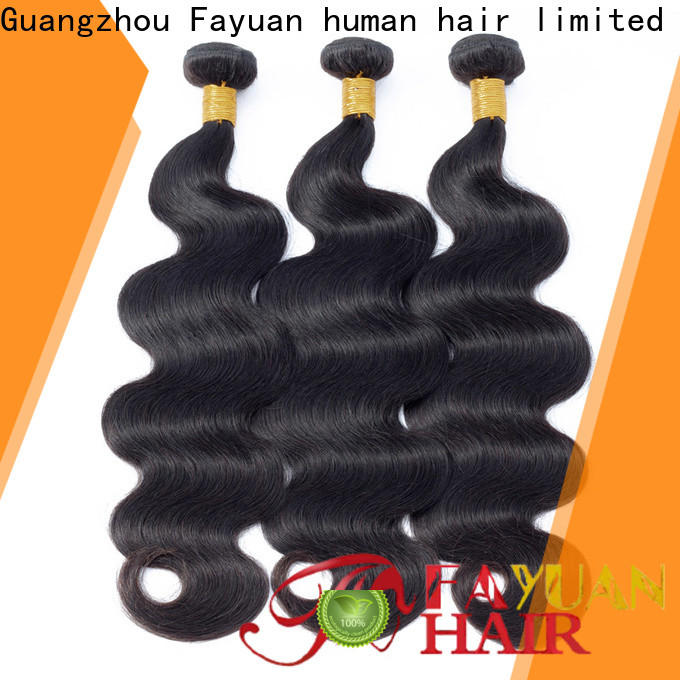 Fayuan Hair wave curly peruvian hair weave for business for women