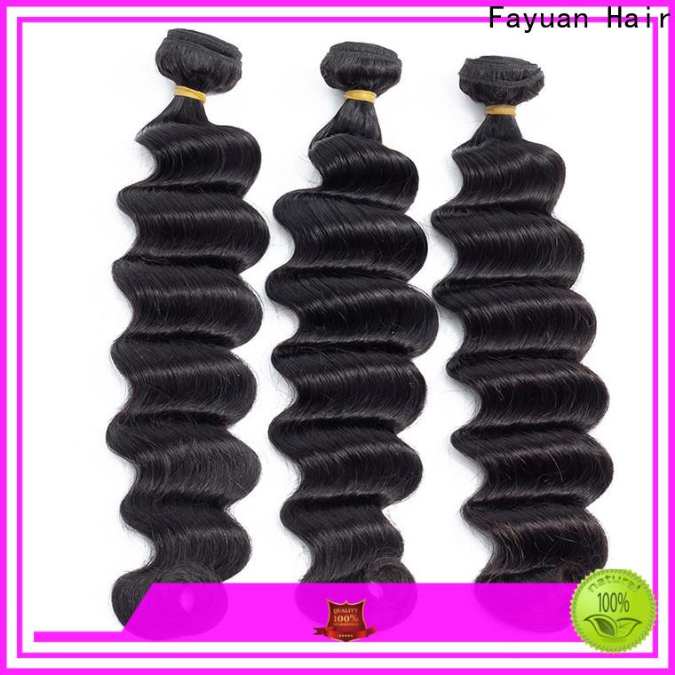 Fayuan Hair Top indian hair distributors Supply for street