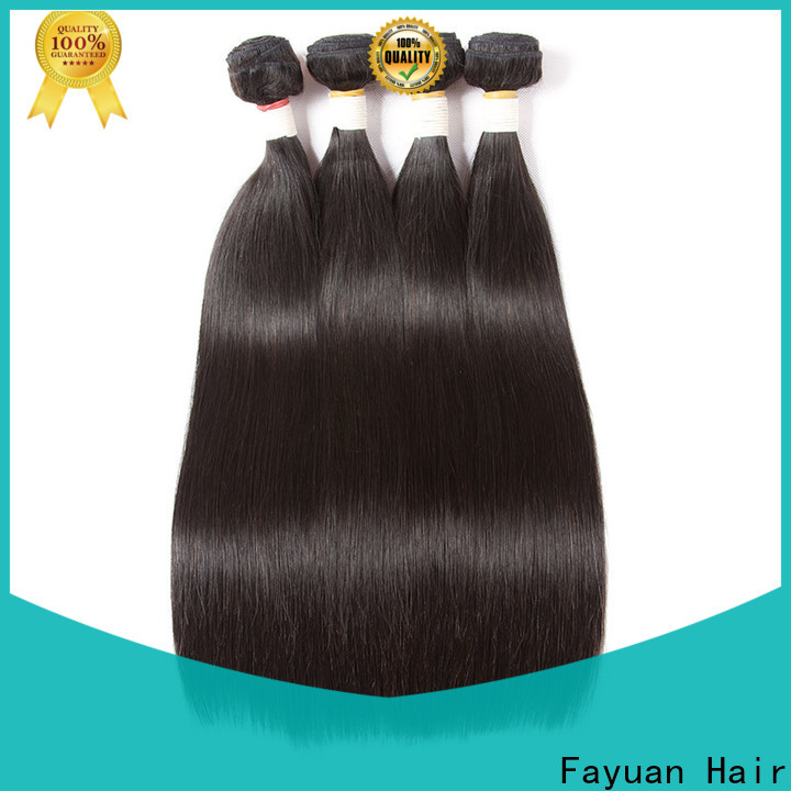 Fayuan Hair Latest cheap brazilian curly hair bundles Supply for street