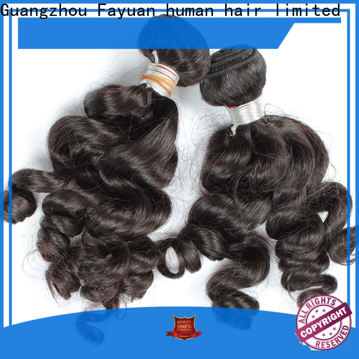 Fayuan Hair grade hair extensions for indian hair for business for barbershop