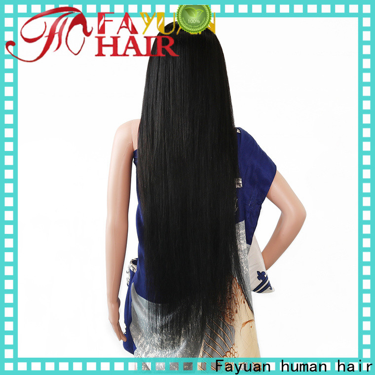 Fayuan Hair High-quality custom wigs for black hair Supply for women