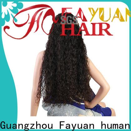 Fayuan Hair wig custom hair wigs Suppliers for men