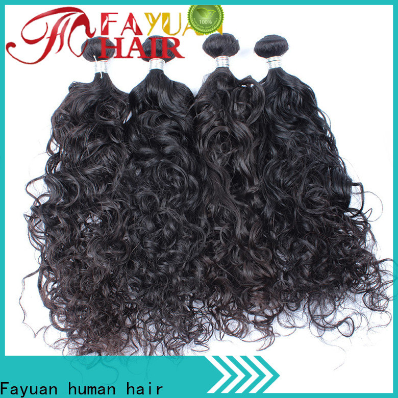 Fayuan Hair Top malaysian curly weave bundles factory for selling