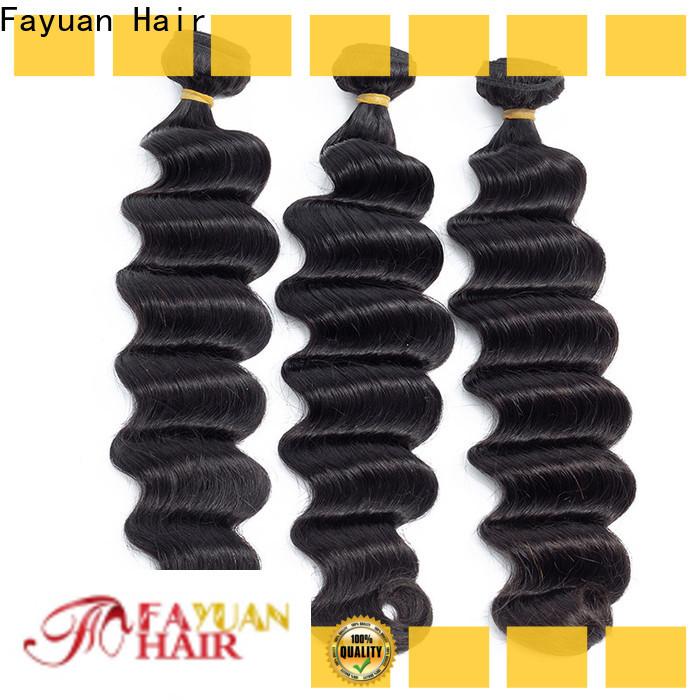 Fayuan Hair deep indian hair weave Suppliers for women