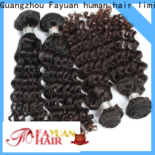 Fayuan Hair deep malaysian hair extensions Suppliers for street