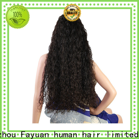 Fayuan Hair human custom color full lace wigs for business for women