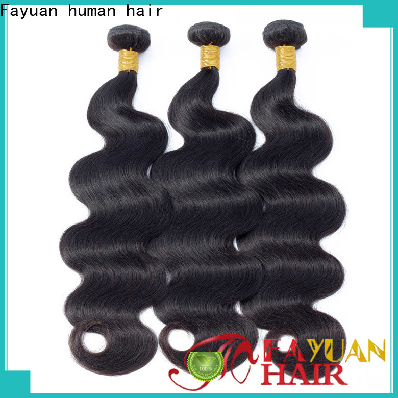Fayuan Hair Top peruvian wavy hair bundles manufacturers for men