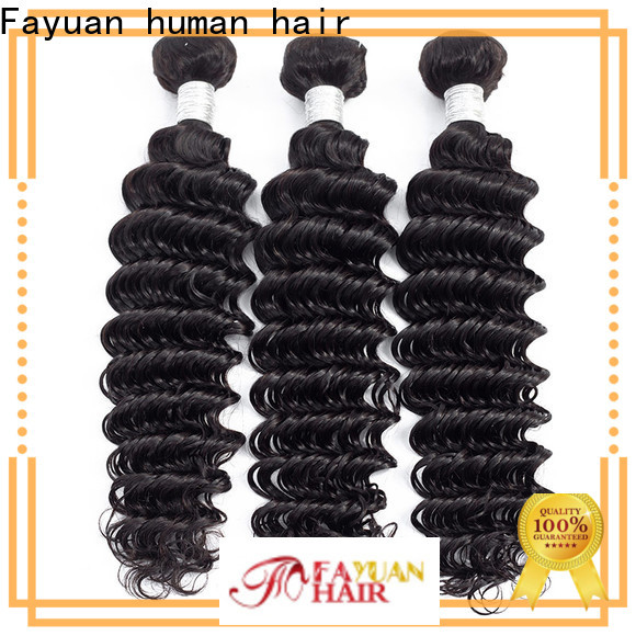 Fayuan Hair weave peruvian hair bundles for cheap factory for selling