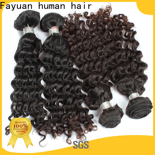 Fayuan Hair Best malaysian curly bundles factory for barbershopp