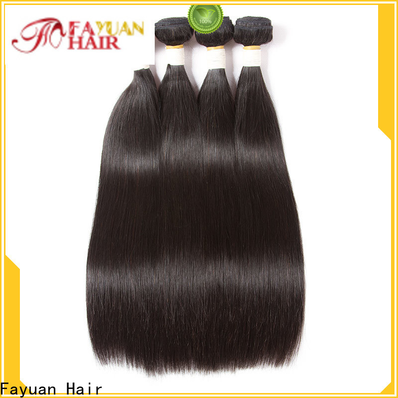 Fayuan Hair straight brazilian curly hair factory for men