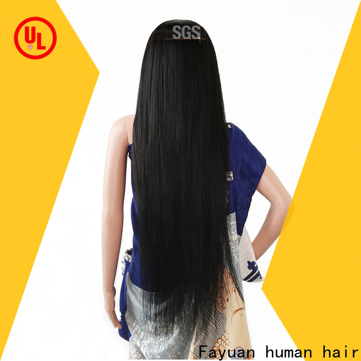 Fayuan Hair frontal best custom lace front wigs Suppliers for barbershop