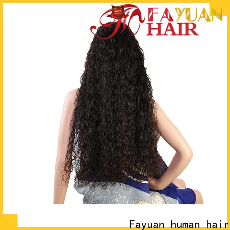 Top custom made wigs deep Supply for men