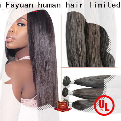 Fayuan Hair unprocessed best full lace wig companies manufacturers for barbershop