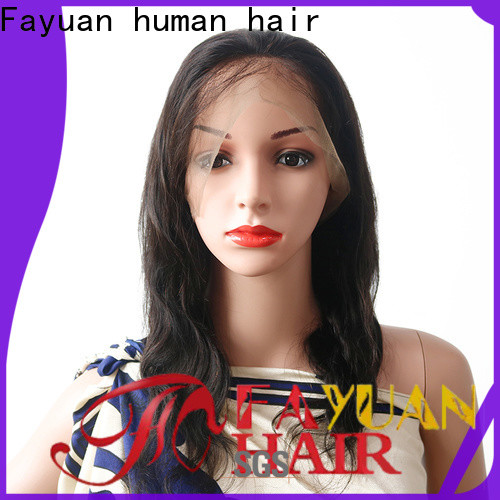 Fayuan Hair Wholesale cheap human full lace wigs factory for street