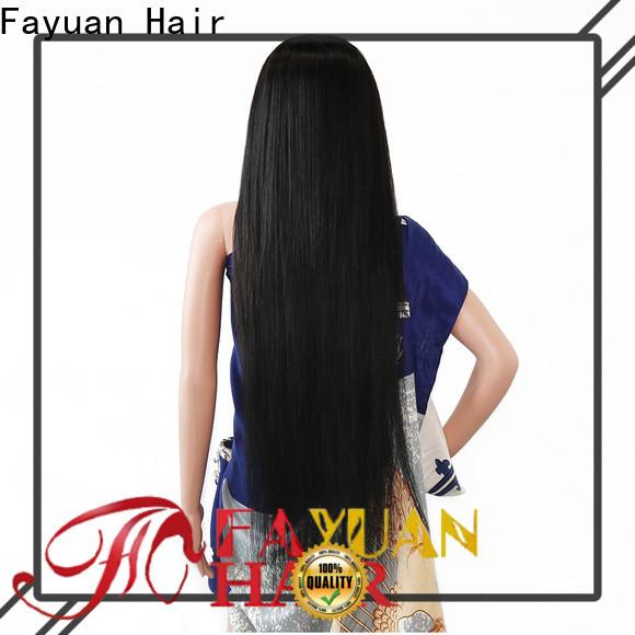 Fayuan Hair wig custom wigs near me company for men