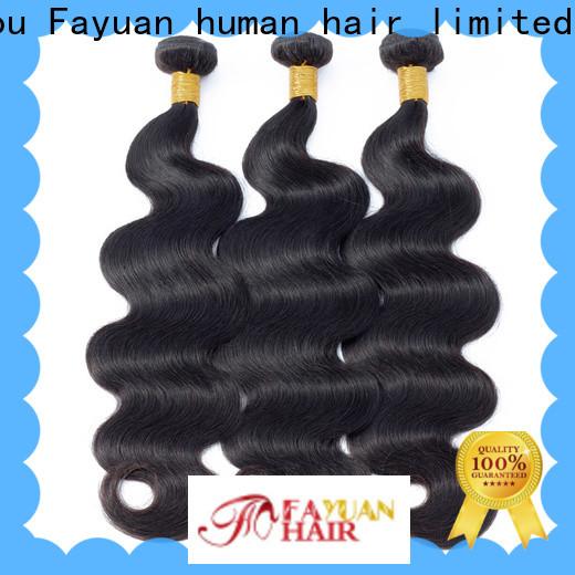 Fayuan Hair New peruvian hair bundles manufacturers for women