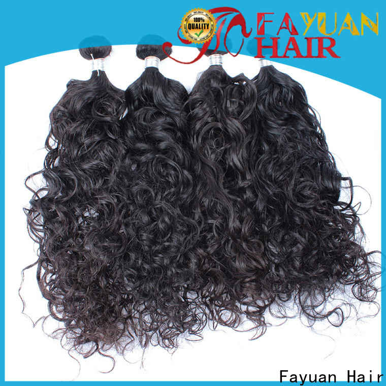 Fayuan Hair Top malaysian hair weave for sale Supply for women
