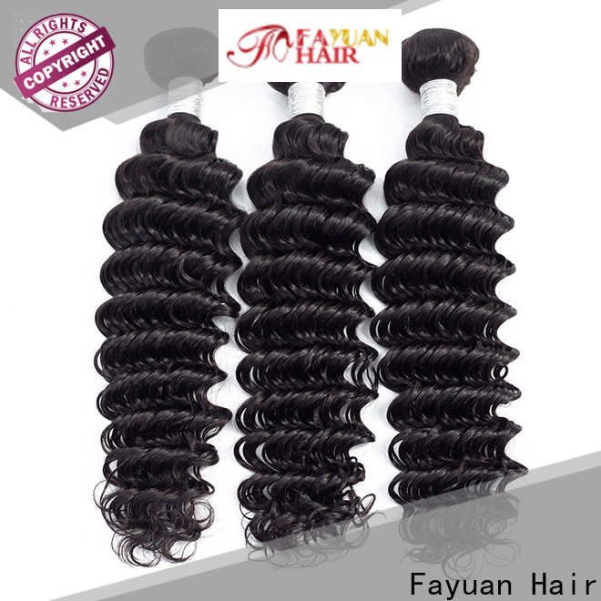 Fayuan Hair bundles wholesale peruvian hair weave manufacturers for barbershop