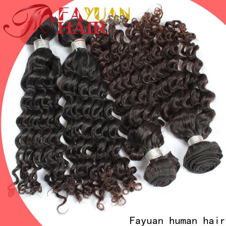 Fayuan Hair deep cheap malaysian curly hair factory for men