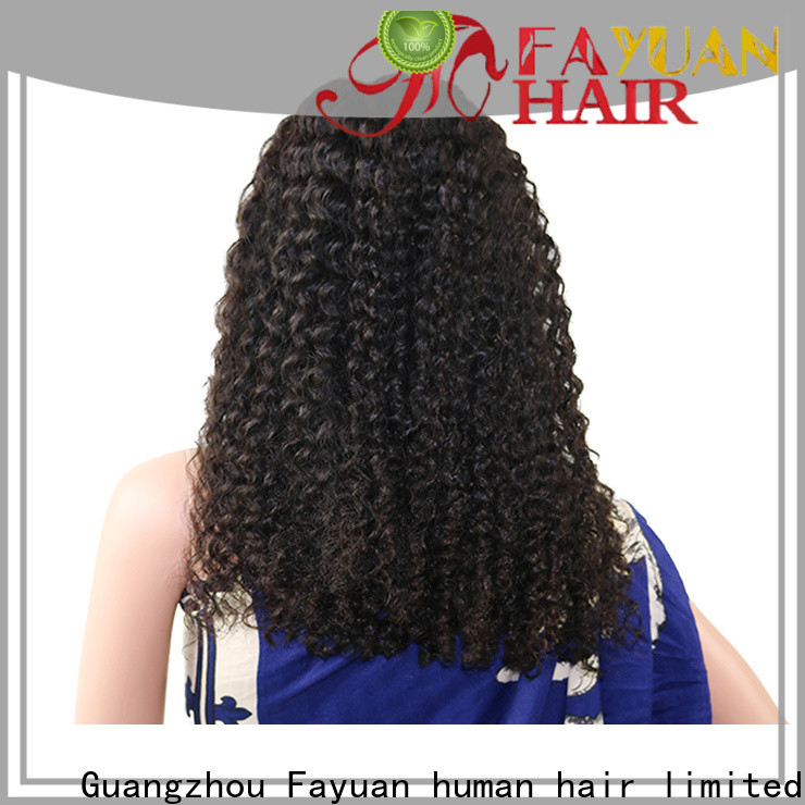 Top swiss lace front wigs grade company for black women