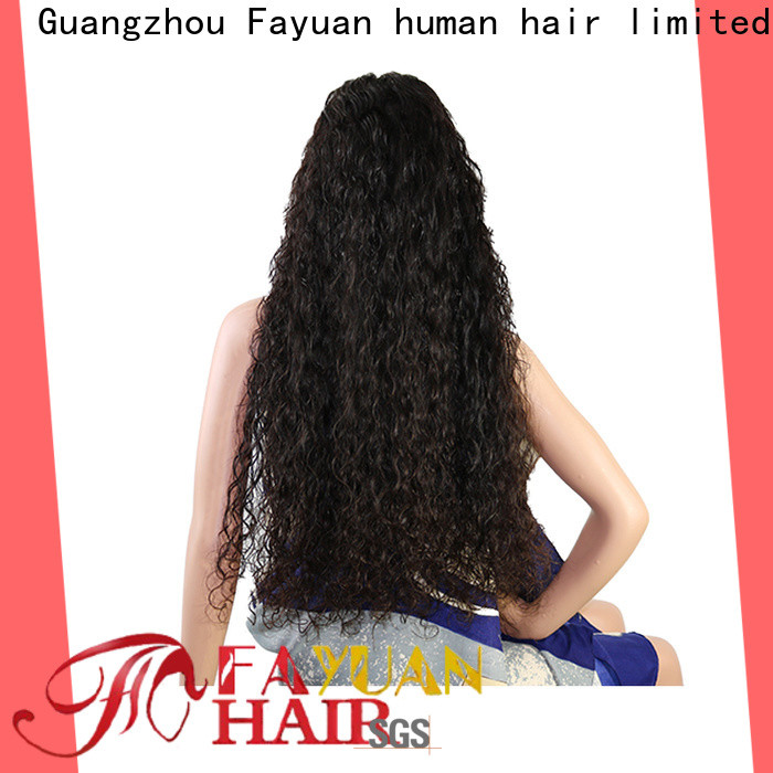 Fayuan Hair Best custom hairpieces Supply for street