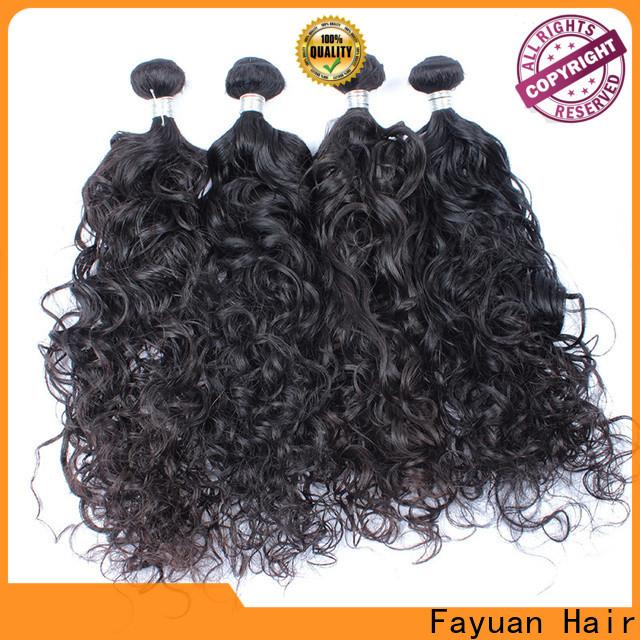 Fayuan Hair Top malaysian deep curly weave manufacturers for street