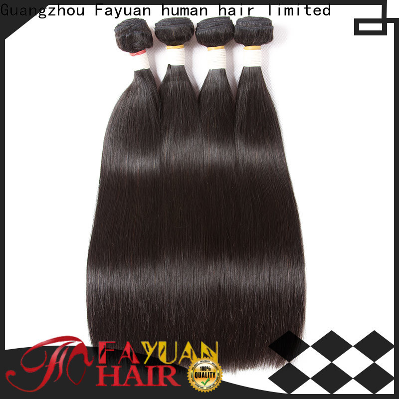 Fayuan Hair Wholesale brazilian hair extensions bundles Suppliers for men