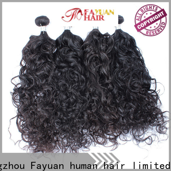 Fayuan Hair grade malaysian hair bundles Supply for street