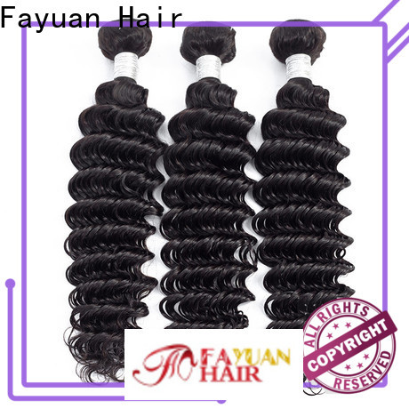 Fayuan Hair weave peruvian natural wave hair Supply for selling