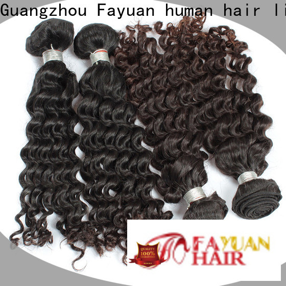 Fayuan Hair Wholesale virgin malaysian curly hair bundle deals factory for men