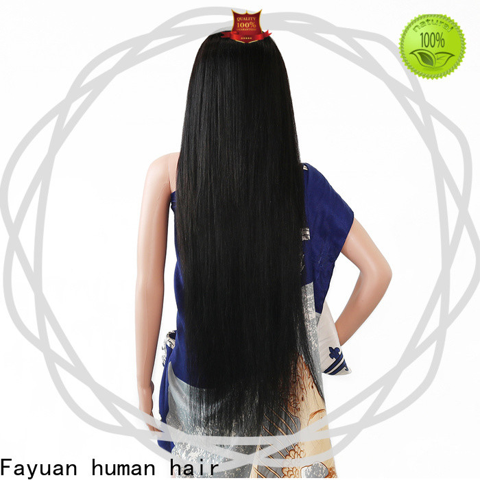 Fayuan Hair New best custom wigs factory for barbershop