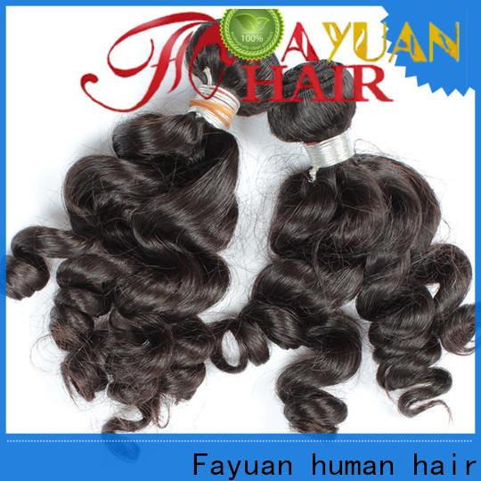Fayuan Hair High-quality indian curly hair extensions for business for barbershop
