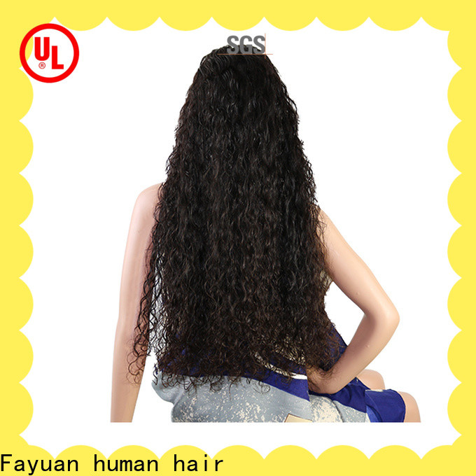 Latest custom wig makers lace Supply for street