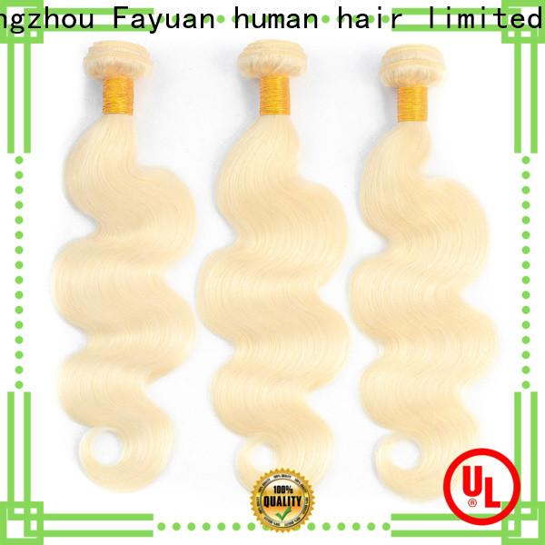 Fayuan Hair grade brazilian natural hair company for selling