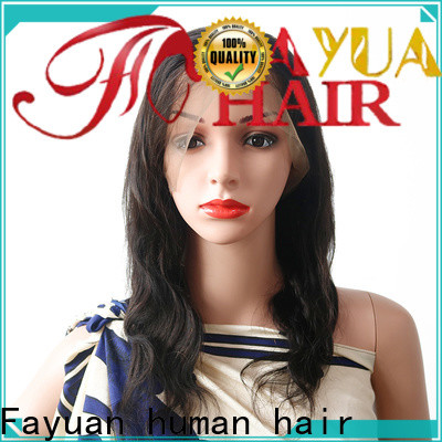 Custom cheap human full lace wigs full factory for selling