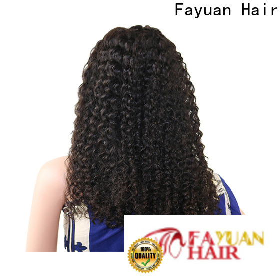 Fayuan Hair Top discount lace front wigs factory for men