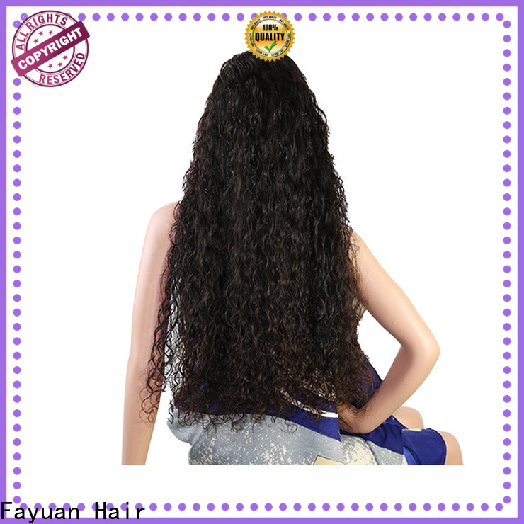 Wholesale custom made lace front wigs frontal company for women