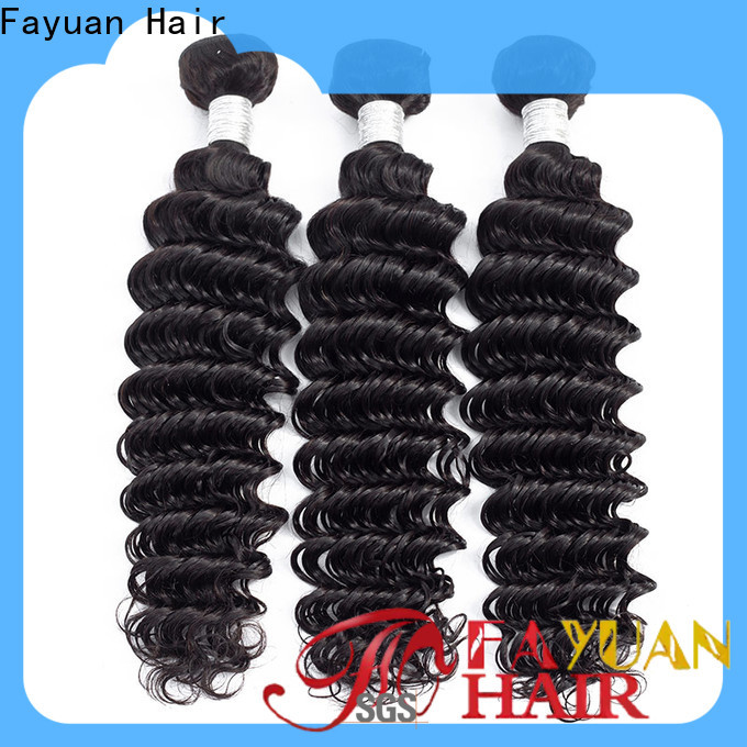 Fayuan Hair hair peruvian curly bundles for business for women