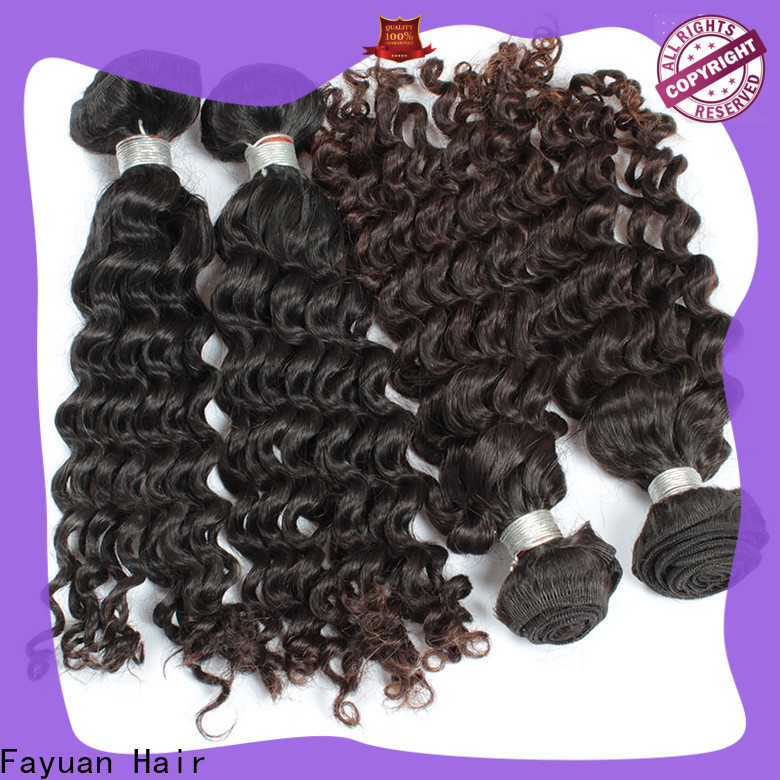 Fayuan Hair High-quality malaysian natural wave weave company for women