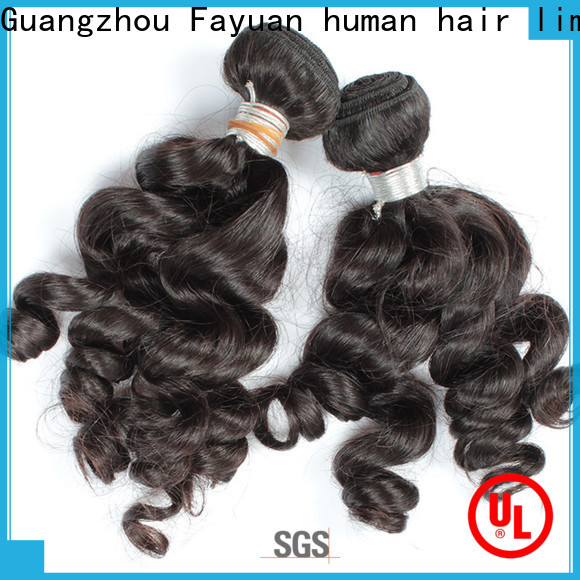 Fayuan Hair Best indian hair extensions manufacturers for street