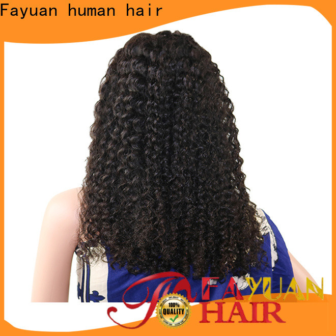 Latest affordable human lace front wigs lace Supply for women