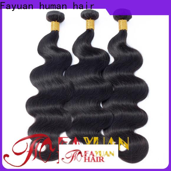 Fayuan Hair Best best peruvian hair bundles manufacturers for street