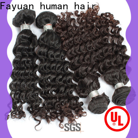 Fayuan Hair human best malaysian curly hair Supply for men