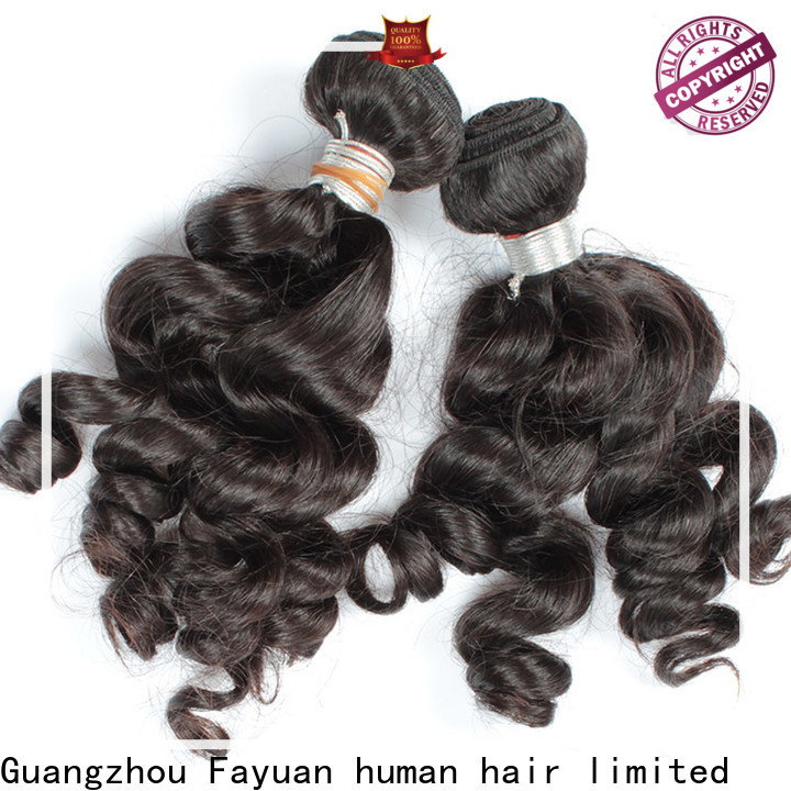 Fayuan Hair loose real indian hair weave for business for selling